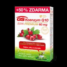 GS Koenzym Q10 60 mg Premium, 30+15 kapslí