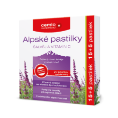 Cemio Alpské pastilky, 15+5 pastilek