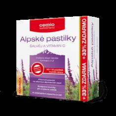 Cemio Alpské pastilky, 30+10 pastilek