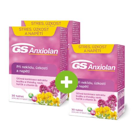 GS Anxiolan, 30 tablet - 2+1 ZDARMA