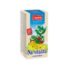 Apotheke Na vitalitu s kotvičníkem čaj, 20x2g