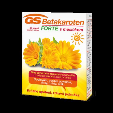 GS Betakaroten FORTE s měsíčkem, 30 kapslí
