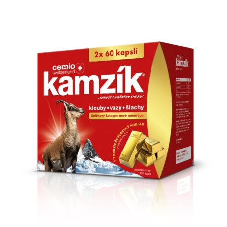 Cemio Kamzík® 120 kapslí, dárkové balení