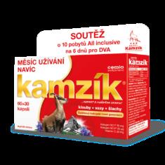 Cemio Kamzík® 60+30 kapslí, limitovaná edice Léto 2020