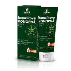 Kamzíkova konopná bylinná mast hřejivá, 200 ml