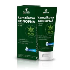 Kamzíkova konopná bylinná mast chladivá, 200 ml