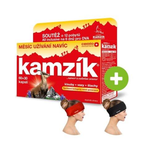 Cemio Kamzík® 60+30 kapslí, limitovaná edice Léto 2021