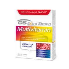 GS Extra Strong Multivitamin, 30+10 tablet
