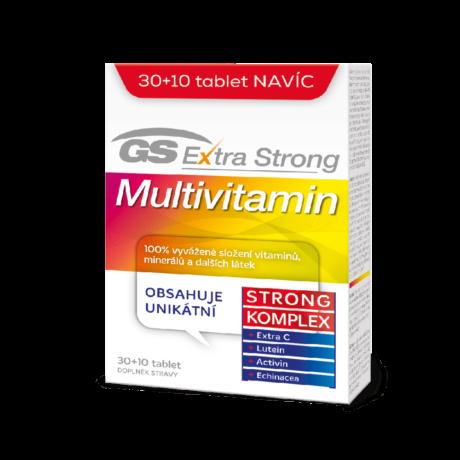 GS Extra Strong Multivitamin, 30+10 tablet