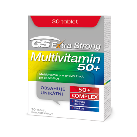 GS Extra Strong Multivitamin 50+, 30 tablet
