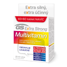 GS Extra Strong Multivitamin, 60+60 tablet