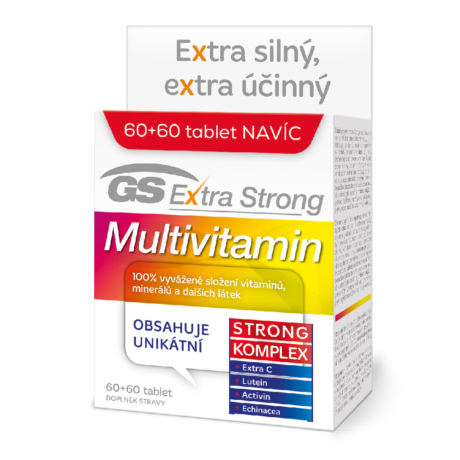 GS Extra Strong Multivitamin, 60+60 tablet