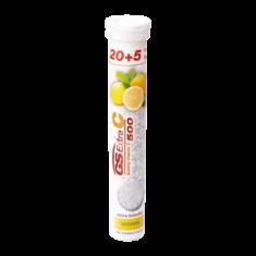 GS Extra C 500 šumivý citron, 20+5 tablet