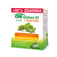 GS Ginkgo 40+Gotu kola, 40+20 tablet