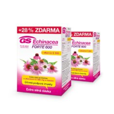 GS Echinacea FORTE 600, 2 × 90 tablet