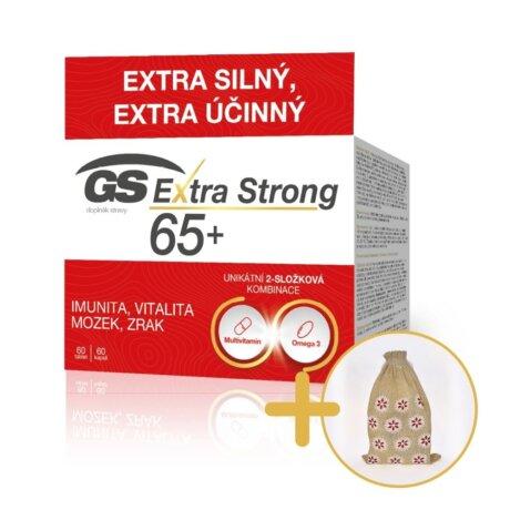 GS Extra Strong 65+, 60 tablet a 60 kapslí