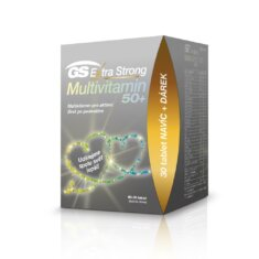 GS Extra Strong Multivitamin 50+, 90+30 tablet, dárkové balení
