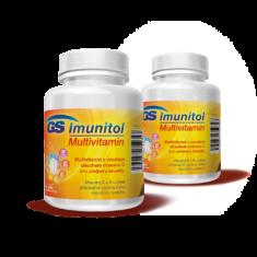 GS Imunitol s vysokým obsahem vitaminu C, 120 tablet