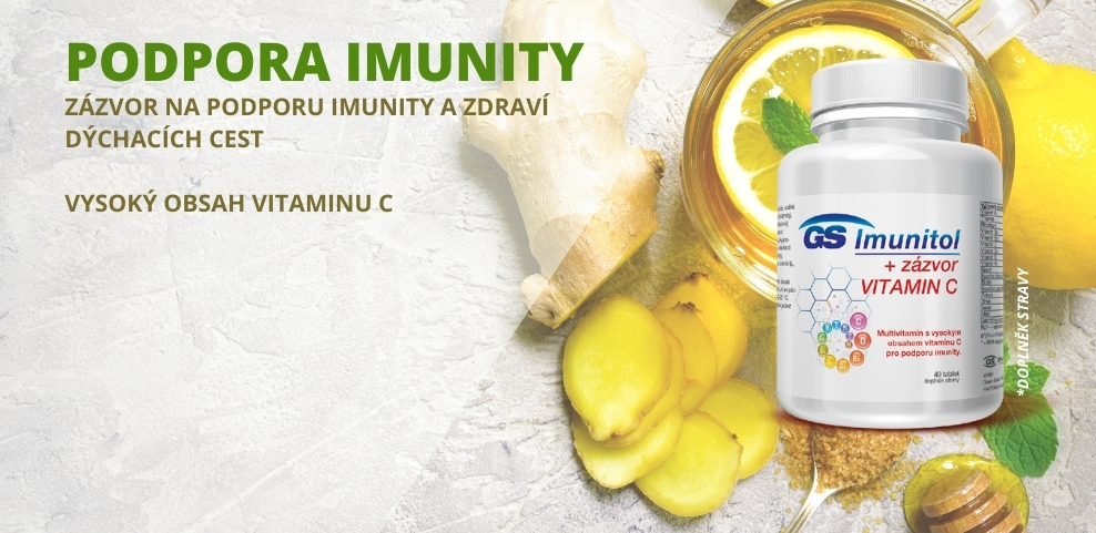 GS Imunitol se zázvorem