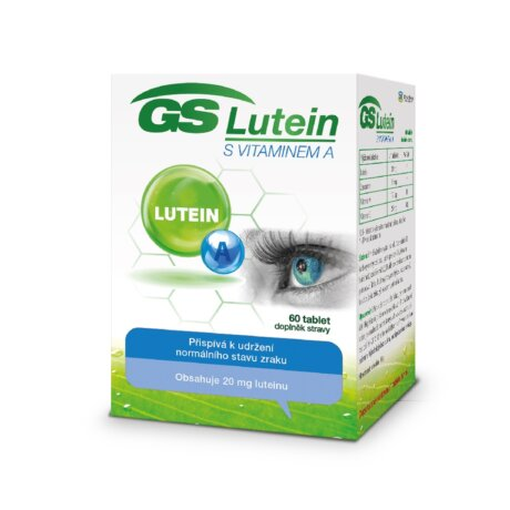 GS Lutein s vitaminem A, 60 tablet