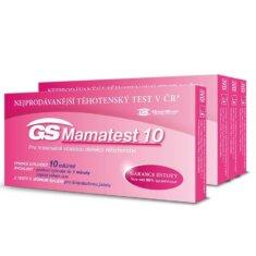 GS Mamatest 10 Těhotenský test, 4 ×  2 ks