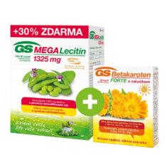 GS MEGA Lecitin 1325 mg, 100+30 kapslí