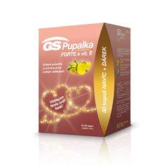 GS Pupalka FORTE s vitaminem E, 70+30 kapslí, dárkové balení