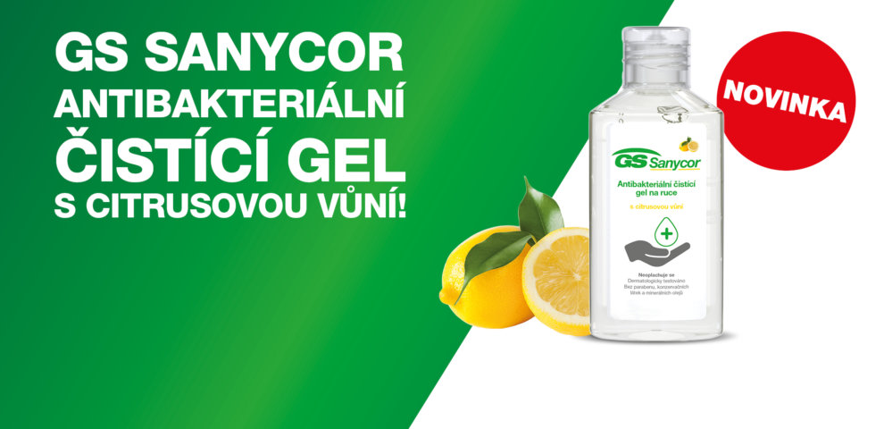 GS Sanycor Antibakteriální gel NOVINKA