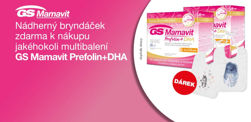 GS Mamavit Prefolin + DHA s dárkem