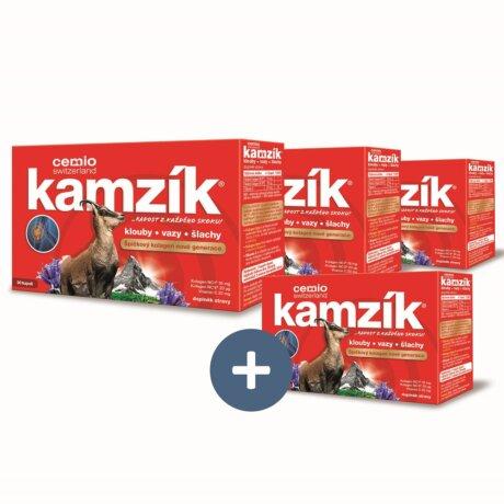 Cemio Kamzík® 90 kapslí - 3+1 ZDARMA
