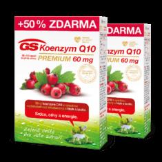 GS Koenzym Q10 60 mg Premium, 60+30 kapslí