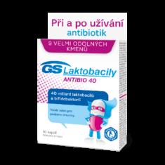 GS Laktobacily Antibio 40, 10 kapslí