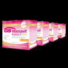 GS Mamavit Prefolin+DHA, 120 tablet + 120 kapslí