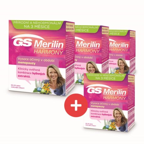 GS Merilin Harmony, 60+30 tablet - 3+1 ZDARMA