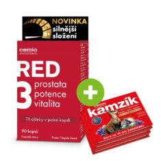 Cemio RED3® silnější, 90 kapslí + dárek ZDARMA