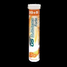 GS Multivitamin Šumivý Forte Pomeranč, 20+5 tablet