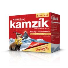 Cemio Kamzík®, 2 × 60 kapslí, dárkové balení 2021