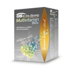 GS Extra Strong Multivitamin 50+, 90+30 tablet, dárkové balení 2021