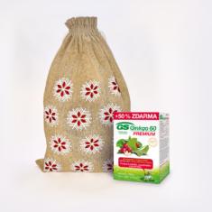 GS Ginkgo 60 PREMIUM, 90 tablet - vánoční balení