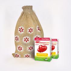 GS Koenzym Q10 s biotinem 60 mg, 2 × 60 kapslí - vánoční balení