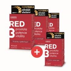 Cemio RED3® silnější, 90 kapslí – 3+1 ZDARMA