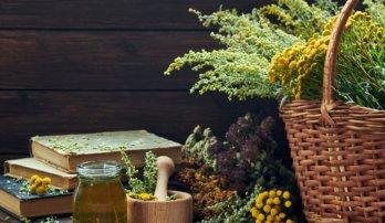 Bylinky během menopauzy