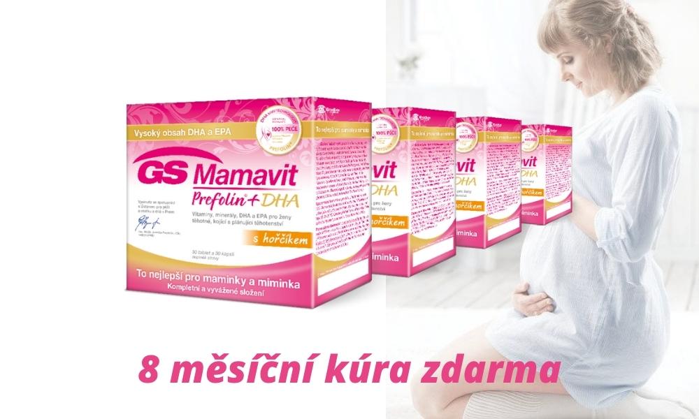S pojišťovnou ZPMVCR získáte příspěvek 2000 korun na těhotenské vitaminy.