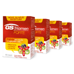 GS Triomen Forte 4 × 60 kapslí