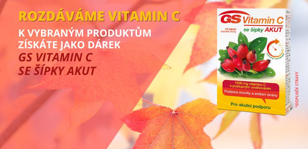 vitamin c akut k vybranym produktum zdarma