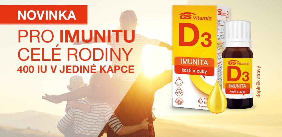 Vitamin D3 kapky