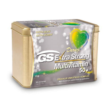 GS Extra Strong Multivitamin 50+, 90+30 tablet - vánoční balení