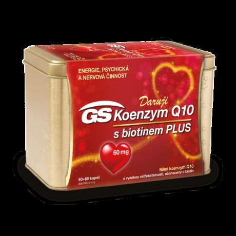 GS Koenzym Q10 60 mg Plus, 60+60 kapslí - vánoční balení