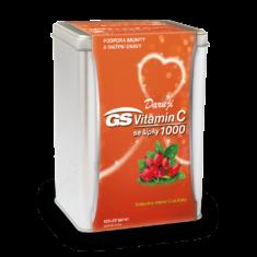 GS Vitamin C 1000 se šípky, 100+20 tablet - vánoční balení