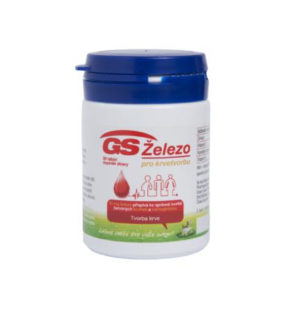 GS Železo 30 tablet